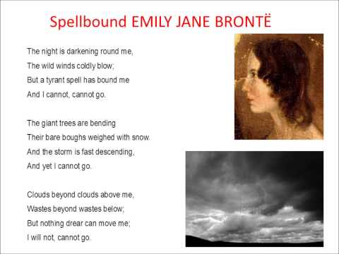 spellbound emily bronte meaning