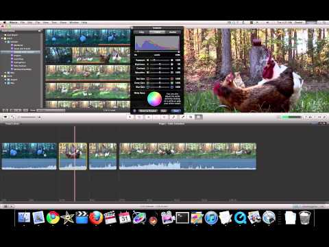 iMovie 11 Tutorial - Advanced Color Correction