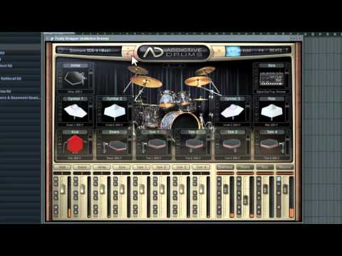 Addictive Drums - Programming Drums in 3 easy ways using FL Studio