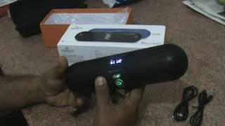 Amkette Bluetooth Speaker with Mic Trubeats IGO 820