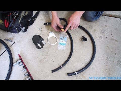 2010-2015 Toyota Prius Oil Catch Can Install