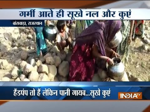 Severe water crisis creates havoc for Rajasthan locals