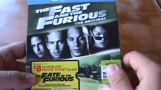 The Fast and the Furious Blu-ray Unboxing