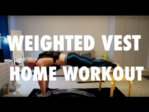 Weighted Vest Home Workout For Gaining Mass