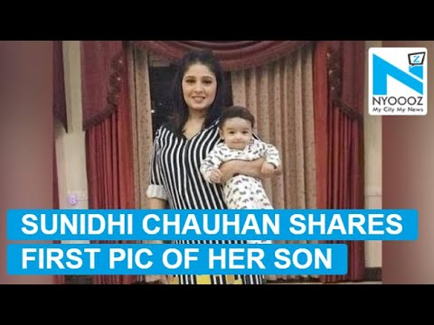 Singer Sunidhi Chauhan shares first pic of her baby boy