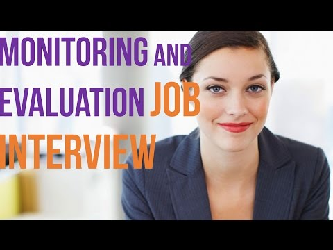 monitoring and evaluation interview questions - m&e interview questions