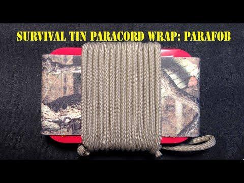 Easy Survival Tin Paracord Wrap: Pt. 4 Ultralight Survival Kit