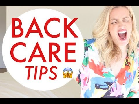 BACK CARE TIPS | TRACY CAMPOLI | SHOULD YOU WORKOUT WITH AN INJURY