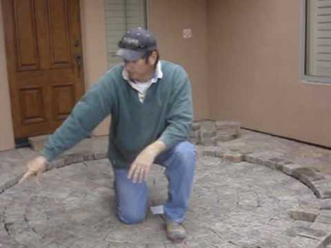 Paver How To Circle Kit Cut In Install Part 1
