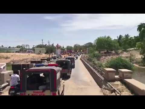 Lokesh's tour of Chirala