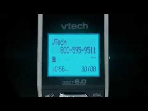Vtech DECT 6.0 Cordless Phones