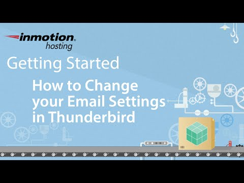 How to Change your Email Settings in Thunderbird