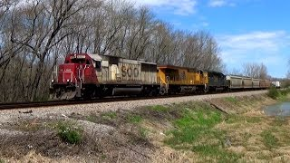 Soo 6027 Southbound At Russell, Il 4/17/17