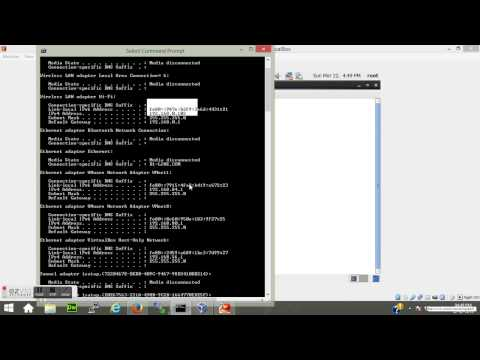 Linux Tutorial 01: How to configure static IP on Redhat Linux