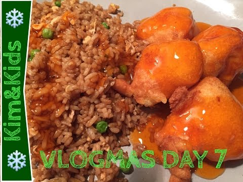 SWEET & SOUR CHICKEN BALL RECIPE | VLOGMAS DAY 7 🎄 Mom of 7 kids