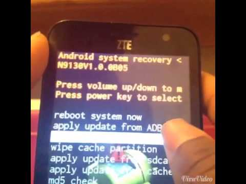 ZTE Speed Factory Reset