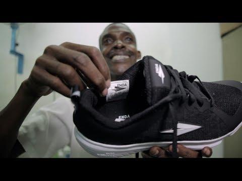 How we're assembling running shoes in Kenya