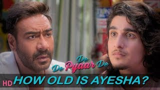 De De Pyaar De : Dialogue Promo -How Old Is Ayesha? | Ajay Devgn | Tabu | Rakul |Releasing May 17th