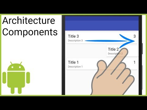 Room + ViewModel + LiveData + RecyclerView (MVVM) Part 8 - SWIPE TO DELETE - Android Studio Tutorial