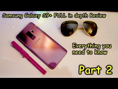Samsung Galaxy S9+ (part-2) camera review, super slow-mo videos, dual aperture, gaming