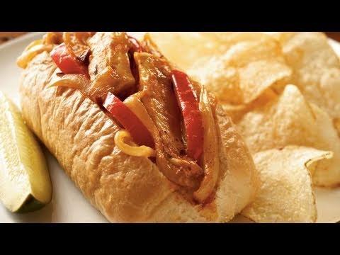 Chipotle Chicken Cheesesteak Recipe