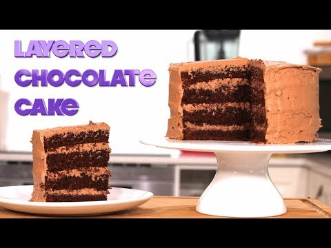 How to Make the Most Amazing Chocolate Cake with Milk Chocolate Frosting
