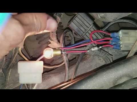 How to wire 280zx turbo alternator in 240z