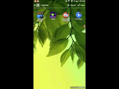 How to hide/unhide apps on samsung jelly bean