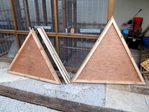 Geodesic Dome template - jig making