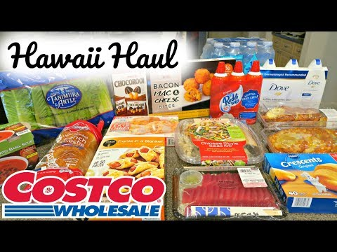 HAWAII COSTCO HAUL (SUPER LATE POST)