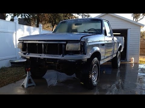 1993 FORD F150 4X4 Pickup Truck Restoration Project