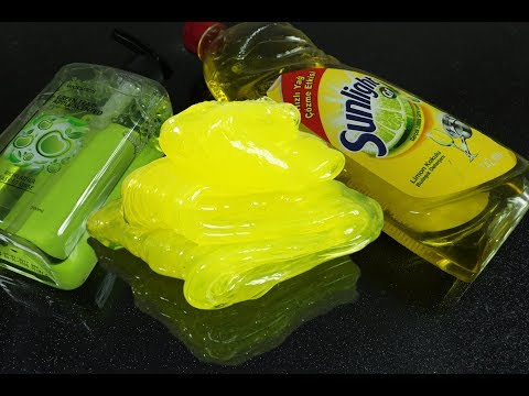 Dish Soap Hand Soap and Baking Soda Slime, No Salt, No Sugar, No Borax