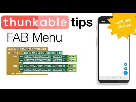 Thunkable Basics: FAB Menu