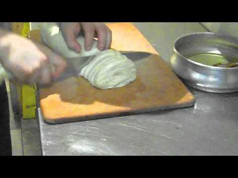 Make Lobster Tail Pastry