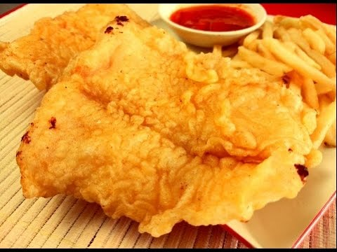 Crispy Fish and Chips Recipe(Long John's Style)