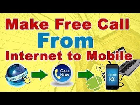 Free call to mobile using internet! make free phone calls online without download! Hindi/Urdu