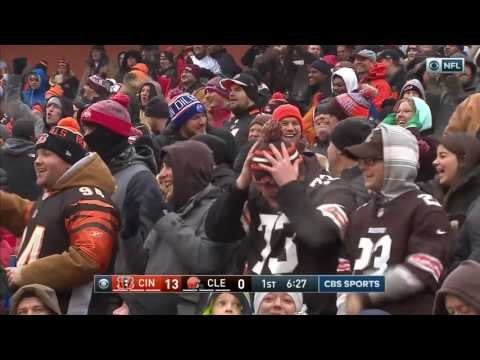 Browns Crazy Lateral Sequence After Blocked Extra Point! | NFL Week 14 Highlights