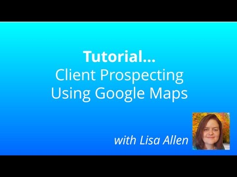 How To to Get Local Clients Using Google Maps - Tutorial