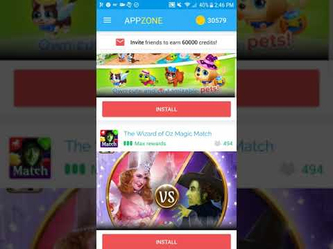 AppZone- Download Install and Earn Gift Cards!