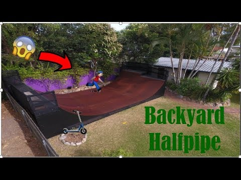 BUILDING A HALF PIPE (Time Lapse)