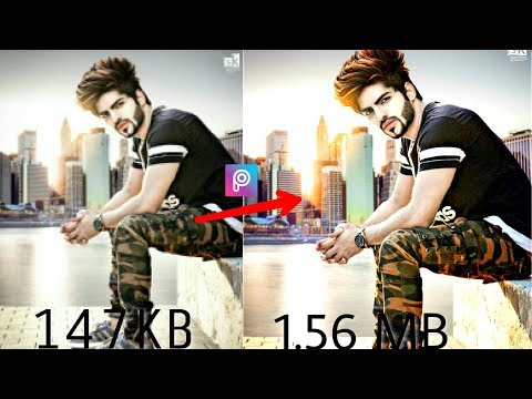 How to increase Photo Quality in Android || PicsArt Editing Tutorial...........
