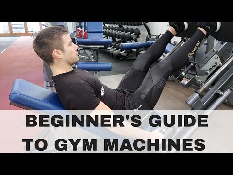 How to use Gym Machines! Lower Body