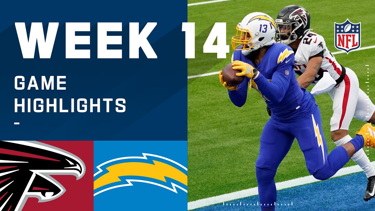 Falcons vs. Chargers Week 14 Highlights | NFL 2020