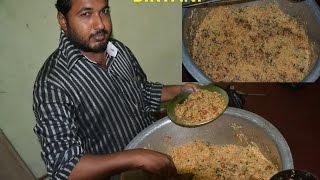 Indian Muslim festival DUM BIRYANI Preparation for 30 People & STREET FOOD