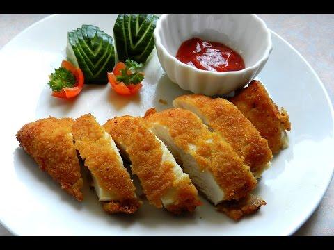 CRISPY CHICKEN FILLET Easy Chicken Recipe Video #92