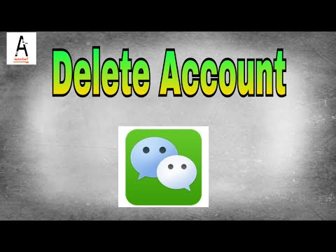 How to Delete WeChat Account Permanently 2017|Delete WeChat|