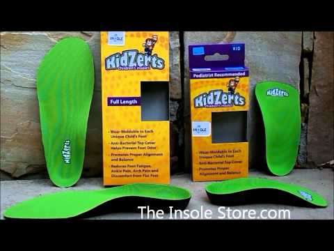 KidZerts Insoles Review @ TheInsoleStore.com