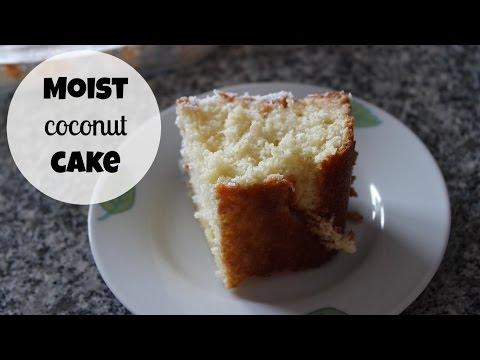 MOIST COCONUT CAKE RECIPE | EM'S BAKING
