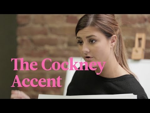 School Of British Accents – COCKNEY