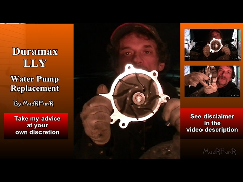 Duramax LLY 6.6L Water Pump Replacement